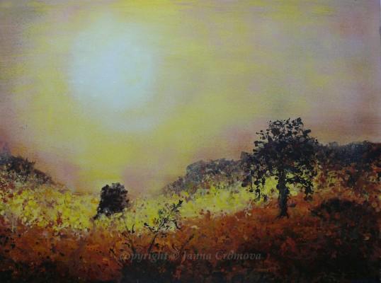 African Dream - Acrylic on canvas, 2009, 30x40