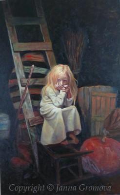 Hidden Sunshine - oil on canvas, 30x48