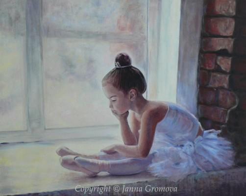 Little Dancer - oil on canvas, 24 x30