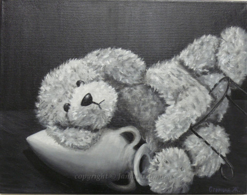 Picture from Childhood - oil on canvas, 2007, 14x18