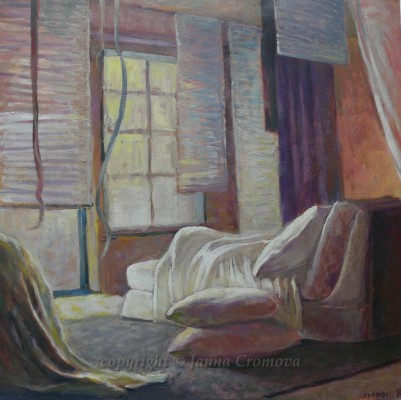 Bedroom - oil on canvas, 2012 24